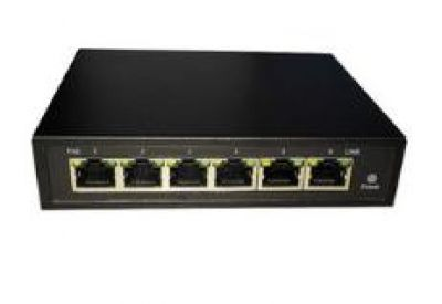 6 port 10100Mbps switch with 4 port PoE POE Switch